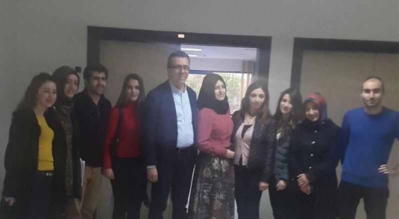 Başkanımız Osman Akın Uludağ Üniversitesi'nde