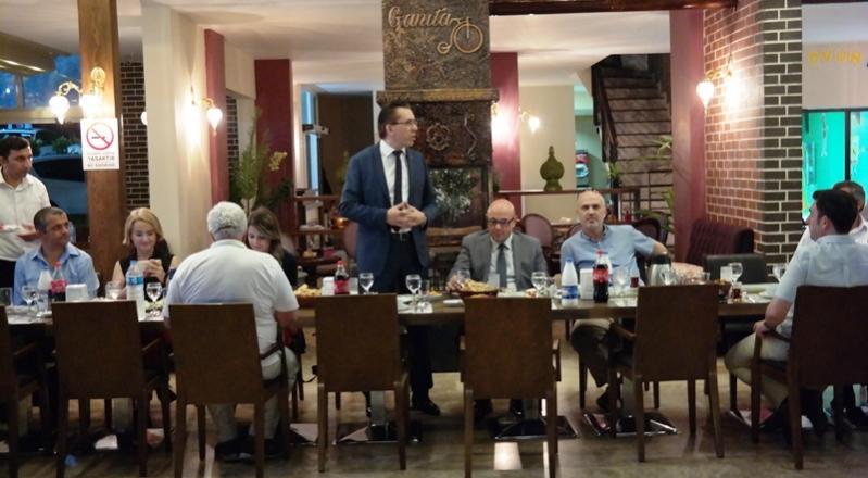 BİSİAD Üyeleri İftar Yemeğinde Buluştu.