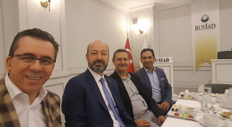 """Bursalı Yabancı Firma Temsilcileri, """"Türkiye'ye Güveniyoruz"""" Mesajı Verdi"""