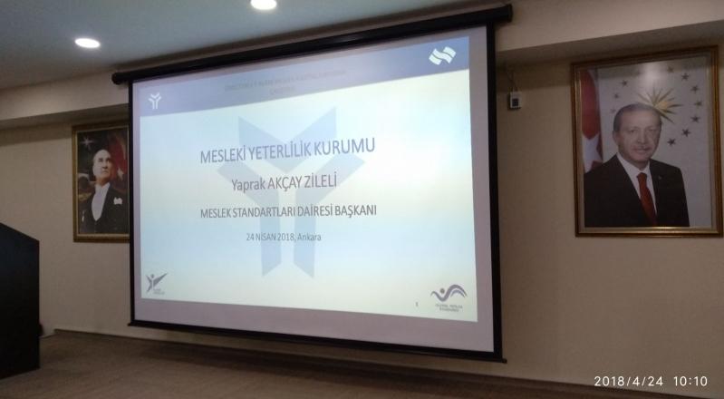 """""""Endüstri 4.0 Alanı Meslek Haritası"""" Çalıştayı İçin Ankara'daydık."""